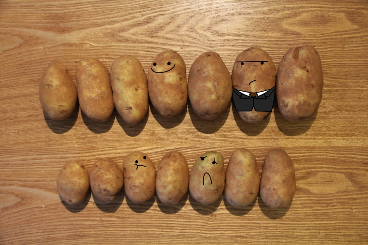 Get yo' Potato's in order.