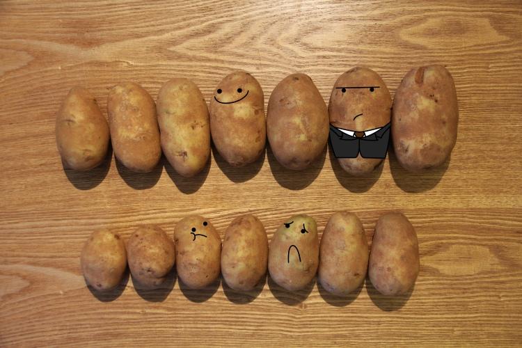 Get yo' Potato's in order.
