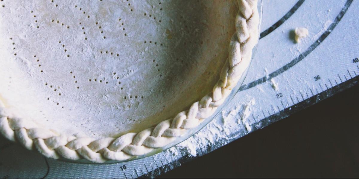 You're my Butter Half: All-Butter Pie Crust Recipe