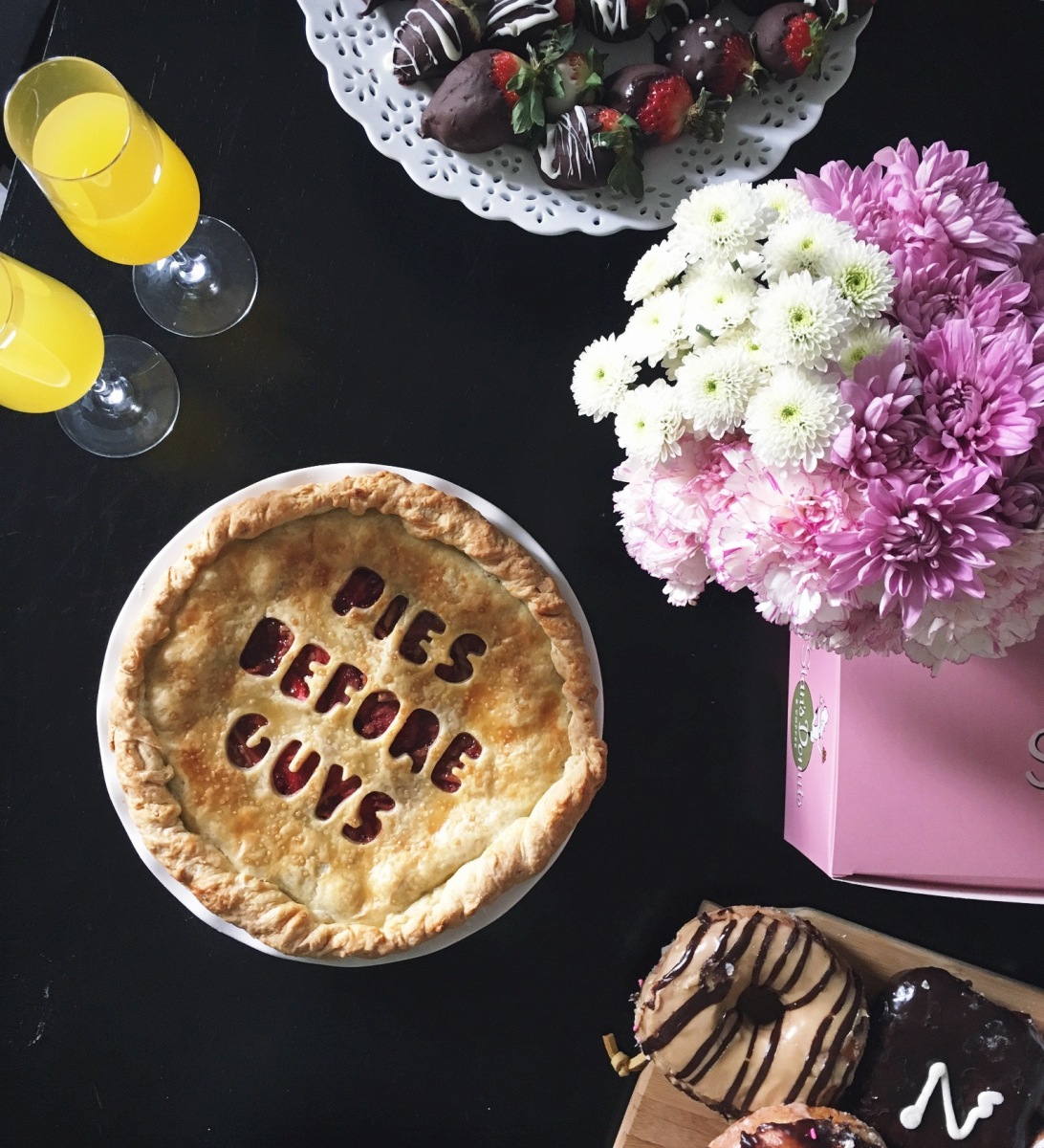 Strawberry Balsamic Valentine's Day Pie: Pies Before Guys