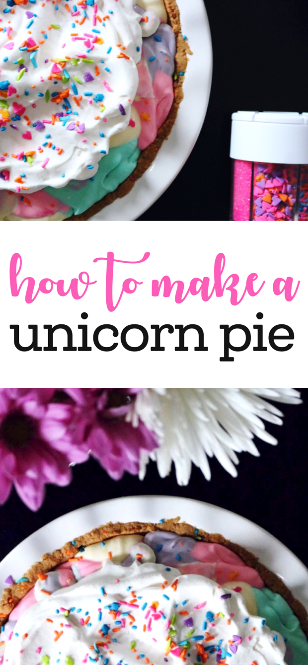 How to Make a Unicorn Pie | via Pies Before Guys