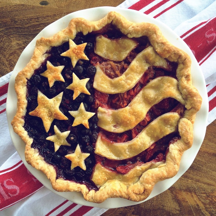 Patriotic Pie - American Flag