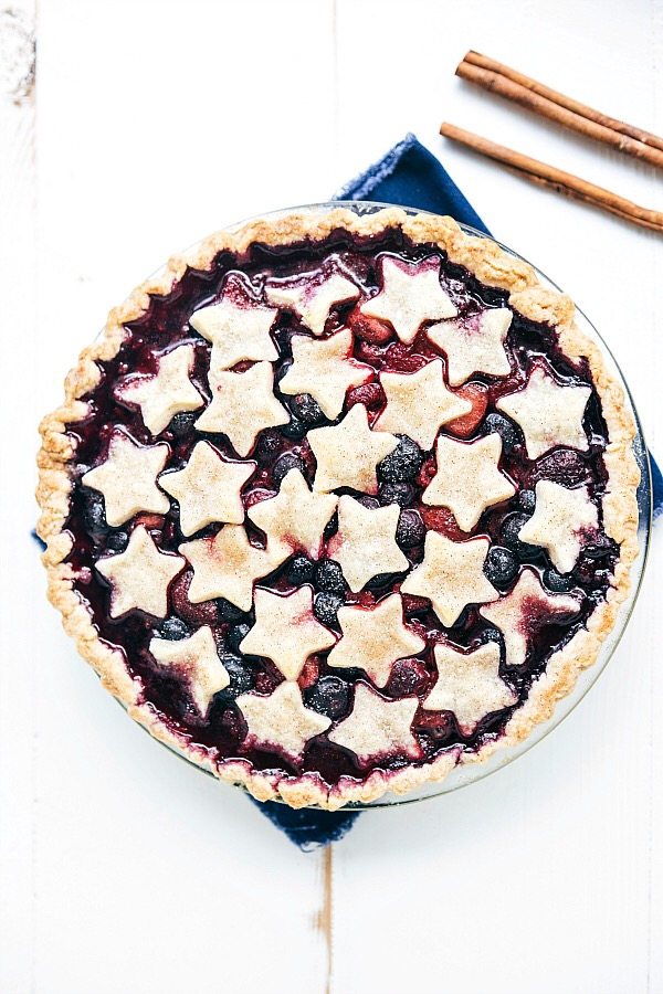 Patriotic Pies - Seeing stars