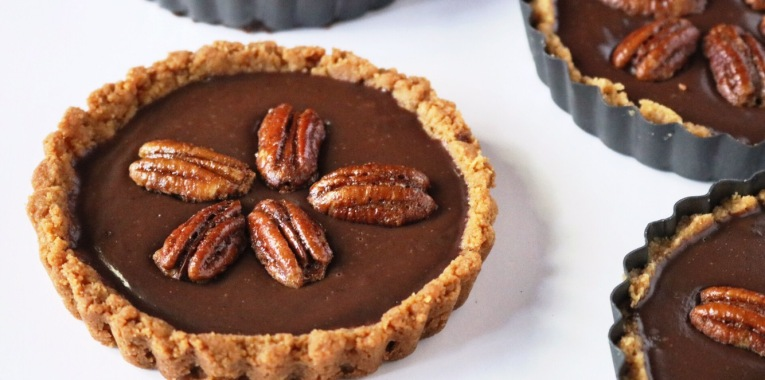 Mexican Chocolate Mini Pie recipe