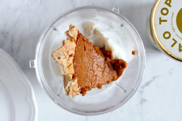 The Ultimate Thanksgiving Leftovers, Pumpkin Pie Milkshakes