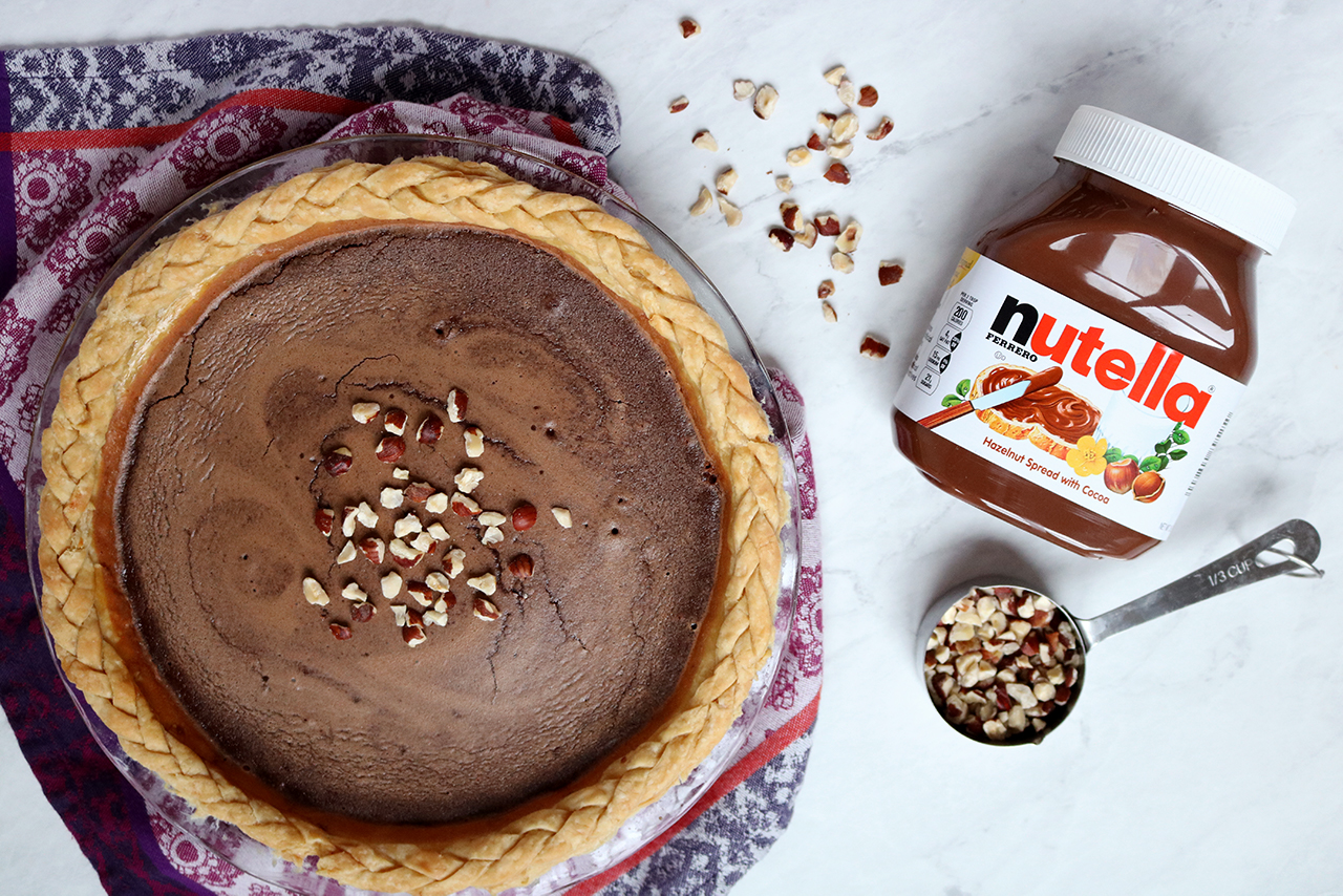 Nutella Pie | via Pies Before Guys
