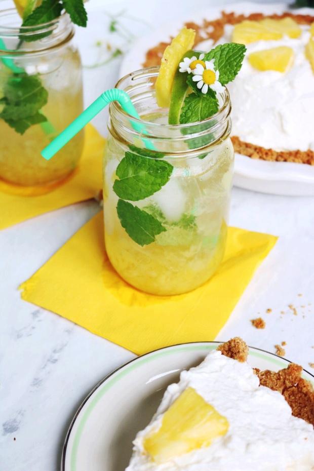 Pineapple Mule recipe | via Pies Before Guys