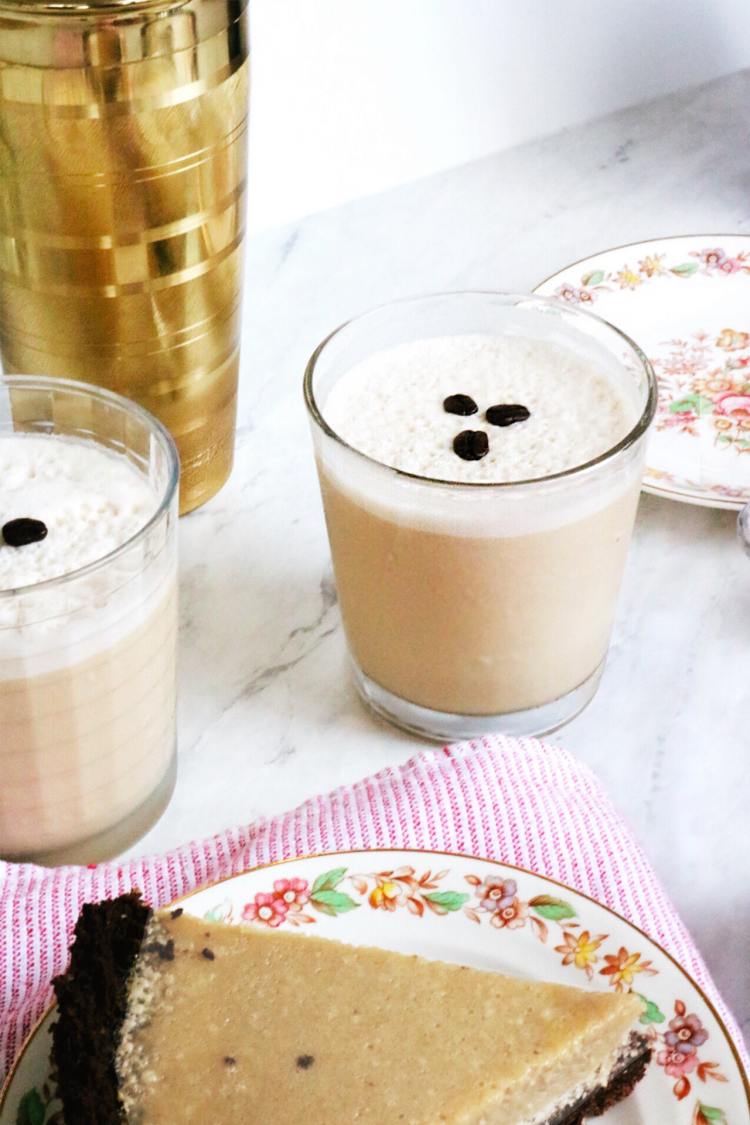 Brunch Tequila Coffee Cocktail recipe | via Pies Before Guys