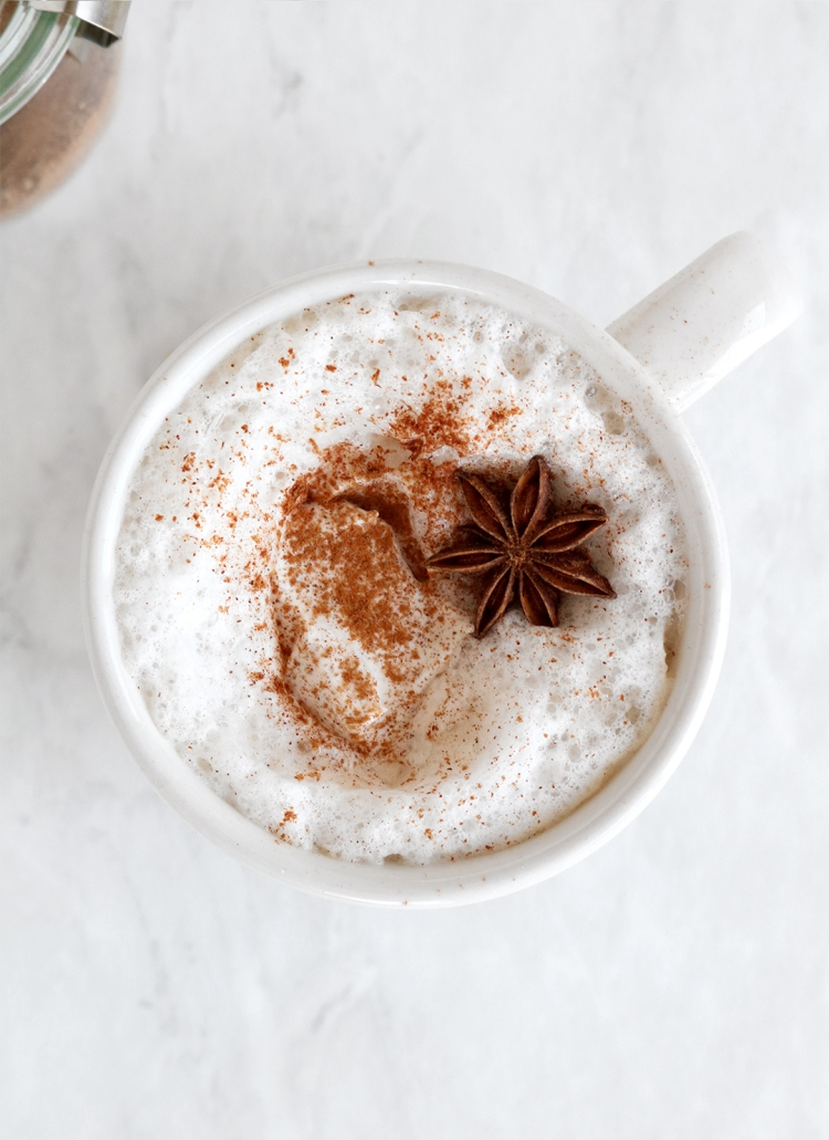 Almond Milk Chai Tea Latte